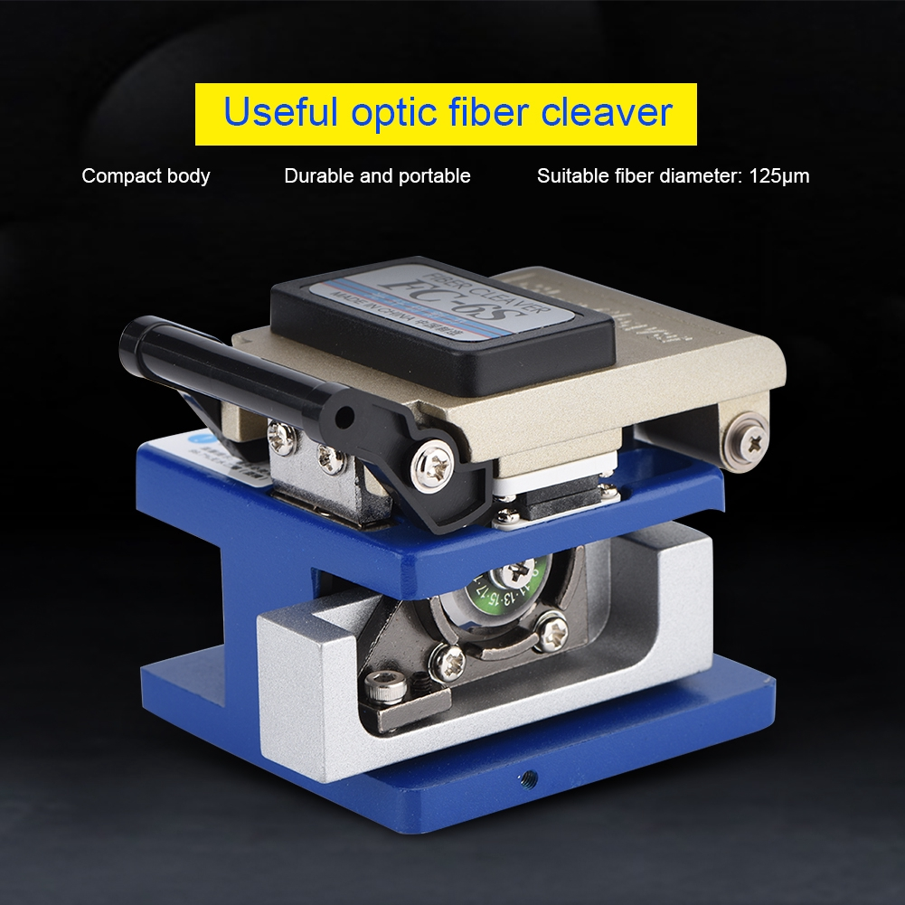 Optic Cleaver Fiber Optical Precision Stripping High Tool Wire Cable Bag Fiber with Cutter