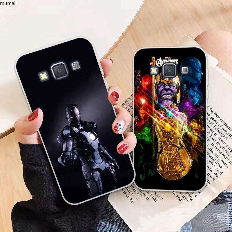 Samsung A3 A5 A6 A7 A8 A9 Star Pro Plus E5 E7 2016 2017 2018 Avengers pattern-3 Soft Silicon Case Cover