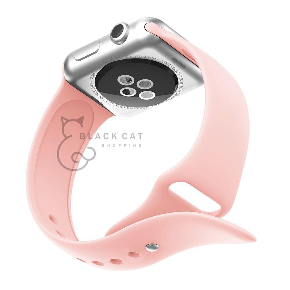 สายนาฬิกาข้อมือซิลิโคน。 โค้ดลด10% สาย Applewatch Series 5/4/3/2/1 สายนาฬิกา applewatch สาย apple watch apple watch b E7K