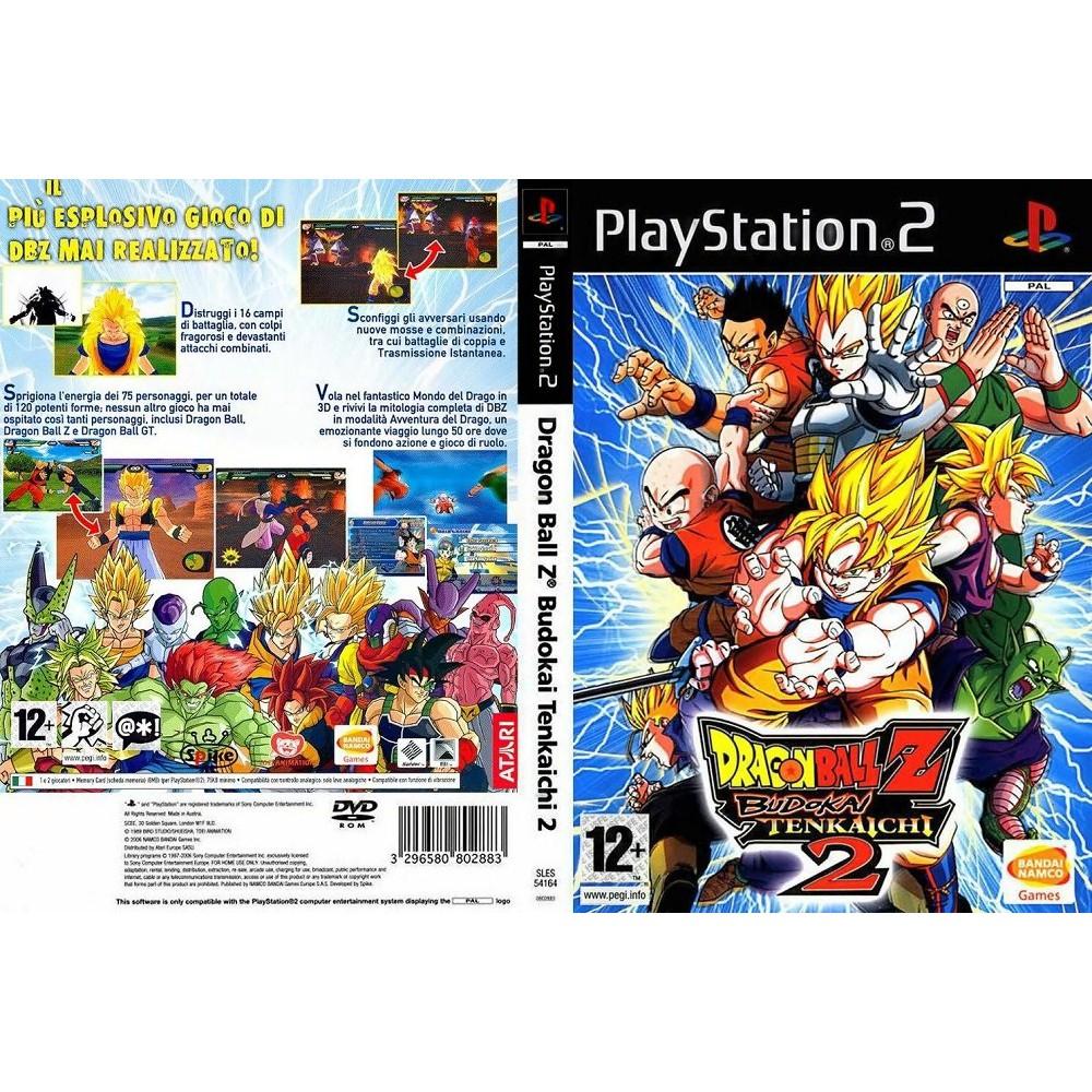 แผ่นเกมส์ PS2 (ส่งไว) DragonBall Z Budokai Tenkaichi 2 [USA]
