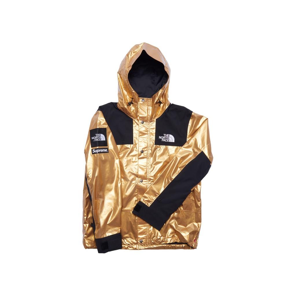 ✈️ EU_Import: Genuine แท้ 💯 เสื้อกันหนาว The North Face x Supreme Metallic-Parka สภาพเหมือนใหม่ 99.99%!!