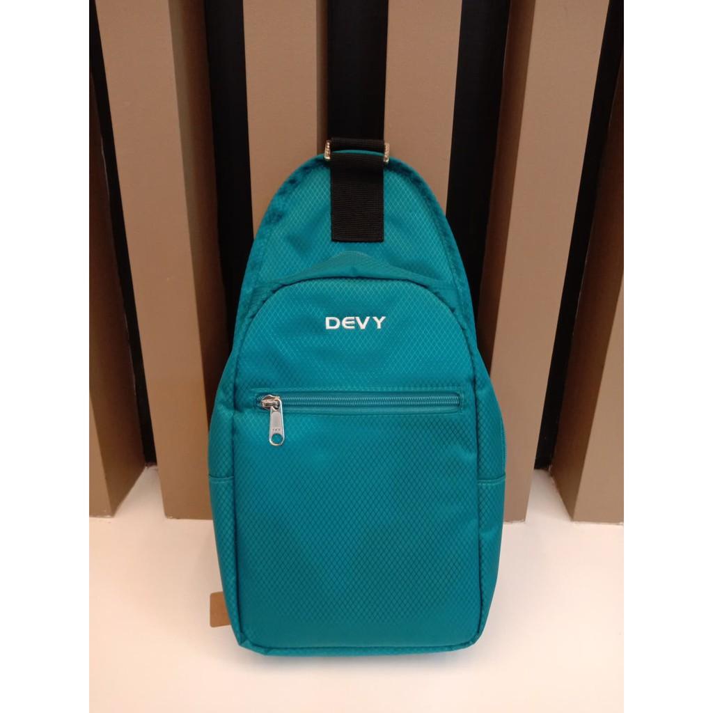 กระเป๋าสะพายข้าง DEVY สีเขียว