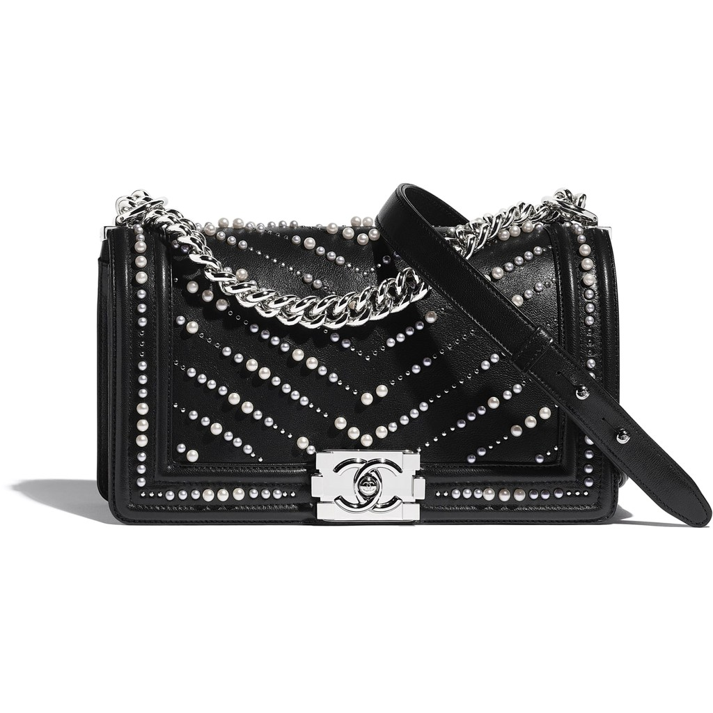Chanel / New Style / BOY CHANEL Flap Bag / Classic Style / Ladies Handbag / Shoulder Bag / ของแท้ 100%