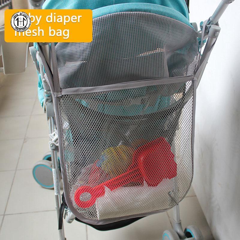 กระเป๋าเดินทางผ้าโพลีเอสเตอร์ติดรถเข็นเด็ก