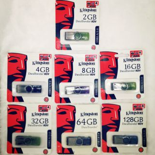 แฟลชไดร์ฟ 2GB 4GB 8GB 16GB 32GB 64GB 128GB Kingston Portable Metal DT101 G2 USB Flash Drive (na: ā) pcs 3