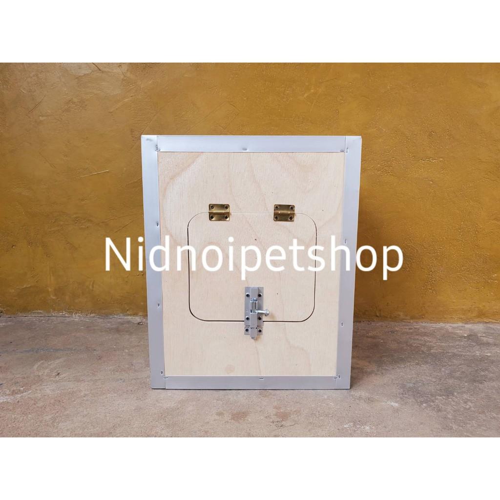๑♈กล่องเพาะนก( กล่องเพาะ ทรงเหลี่ยมสั้น )รังเพาะนก กล่องนอน บ้านนก หงส์หยก เลิฟเบิร์ด ค็อกคาเทล ฟอพัส ฟินซ์ ราคาโรงงานเล