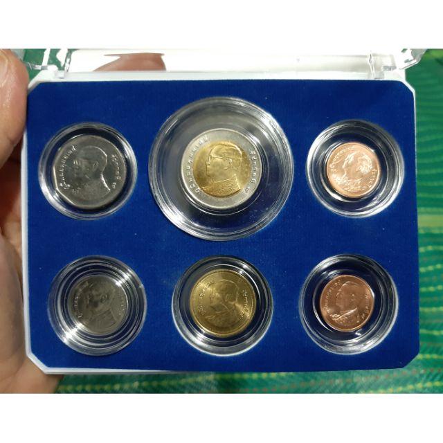 เหรียญชุด6เหรียญ มีเหรียญ10บาท เหรียญ5บาท เหรียญ 1บาท เหรียญ2บาท เหรียญ50สตางค์ เหรียญ25สตางค์