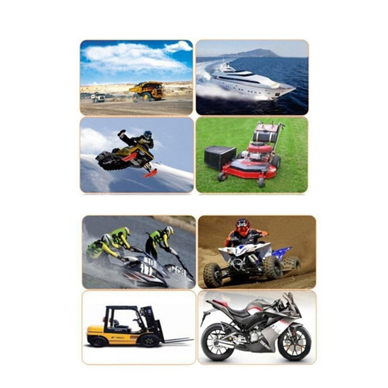 Find Price Inductive Hour Meter for Marine ATV Motorcycle Dirt Ski