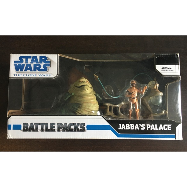Star Wars Action Figure 1:18, Jabba palace and TC-70
