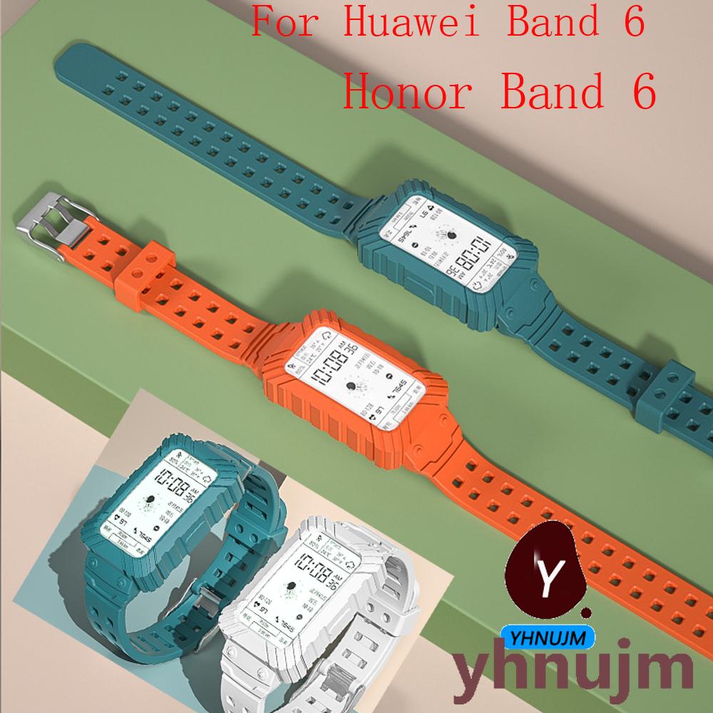 สาย huawei band 6 สาย เคส  2in1