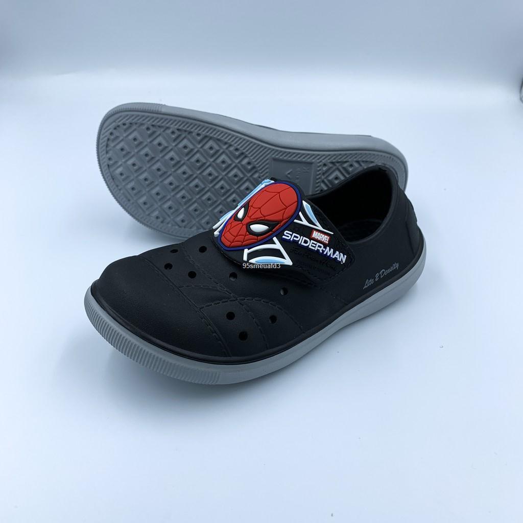 ถูกที่สุด▬รองเท้าแตะเด็กผู้ชาย รองเท้าคัชชูเด็กผู้ชาย spiderman รองเท้าคัชชูเด็ก รองเท้าแตะการ์ตูน รองเท้าการ์ตูนผู้ชาย