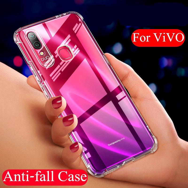 Review VIVO Y17 V15 X27 V11 Pro V11i IQoo Y91 Y95 Y91i Y93 Y81 Y85 Y79 Y75 Y71 Case Transparent Ultra Thin Soft Phone Cover
