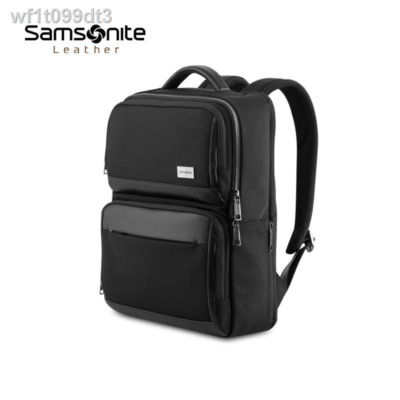 ◇Samsonite / 2020 ใหม่กระเป๋าเป้สำหรับเดินทางเพื่อธุรกิจชายหลายช่อง 14 นิ้วกระเป๋าคอมพิวเตอร์ TW0