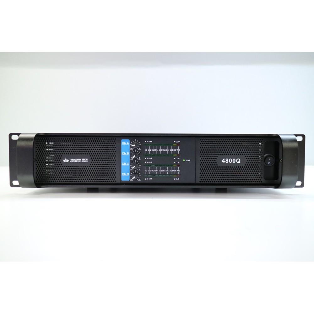 POWER AMP 4800Q  4-Channel PROEURO TECH