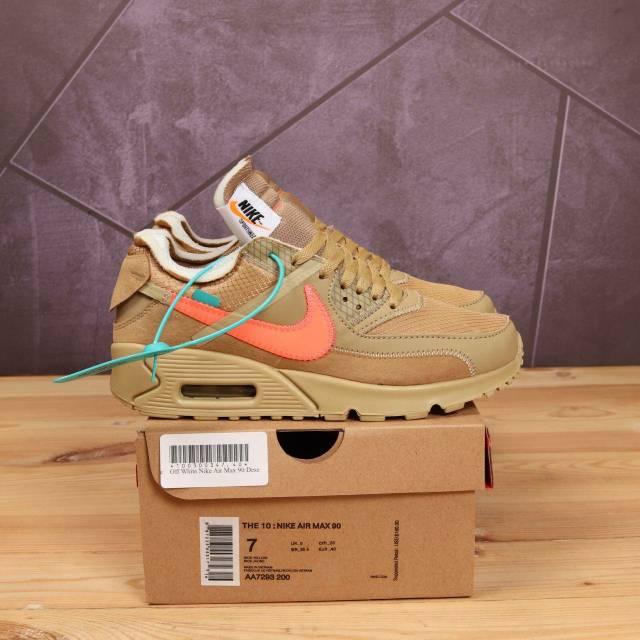 รองเท้าผ้าใบ Nike Airmax 90 X สีขาว