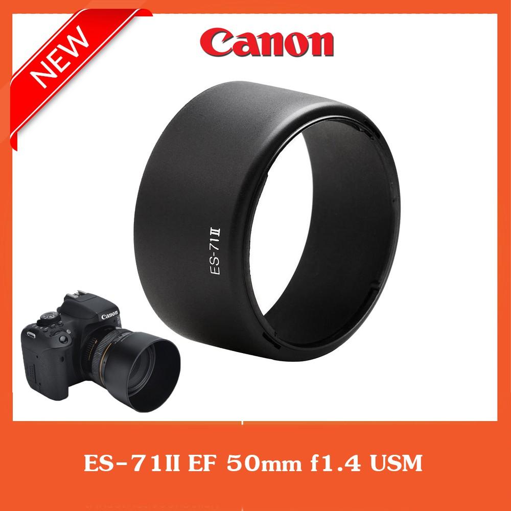 ฮูดเลนส์  ES-71II  Canon EF 50mm f1.4 USM