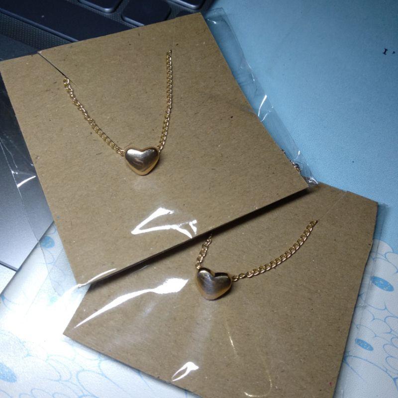 สร้อยคอผู้หญิงราคาถูกขนาดเล็ก Myt 01 สร้อยคอราคาถูกผู้หญิงราคาถูกสีทอง