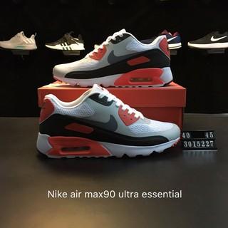 wholesale dealer 549f8 c8207 รองเท้าผ้าใบกีฬา xinxin NIKE AIR MAX 90 ULTRA ESSENTIAL Nike max 90 ผู้ชาย  819474 106   Shopee Thailand