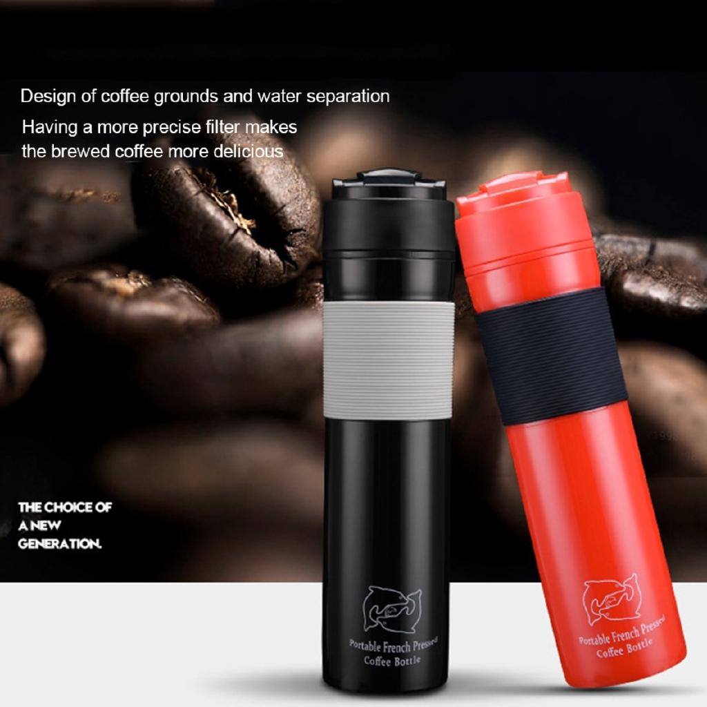 ชุดหม้อกาแฟทำมือ เครื่องกาแฟ portable Pressure Pot Coffee Pot Insulation Tea Pot Large Capacity durable