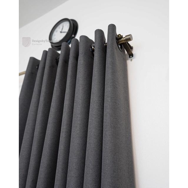 ผ้าม่านสำเร็จรูปกันยูวี ผ้าม่านสำเร็จรูป ผ้าม่านกันแสง 155 x 250