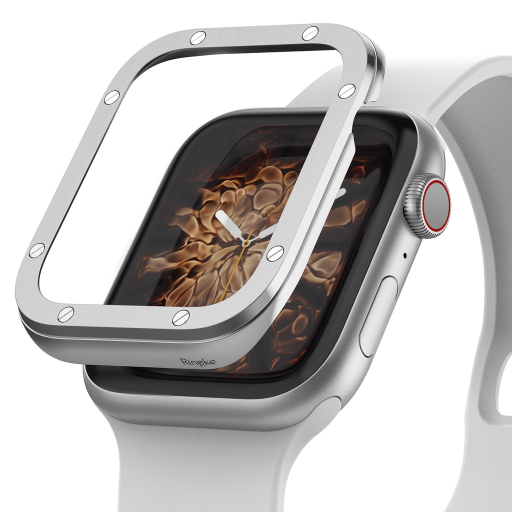 Ringke Bezel Styling Apple Watch 6 5 4 SE 40mm Premium Case Cover Stainless Steel Frame Accessory kFT8