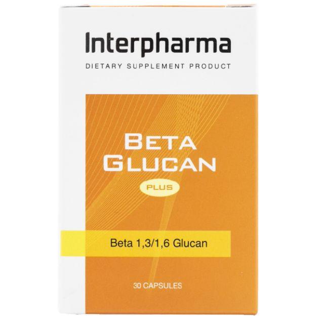 exp 5/22 Beta Glucan 30 เม็ด Interpharma เบต้า กลูแคน อินเตอร์ฟาร์มา โปรแบค probac prebo พรีโบ ts6 ทีเอสหก