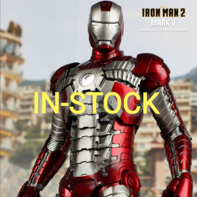 HOT TOYS -​ IRON MAN MARK 5 -​ MMS145 : IRON MAN 2