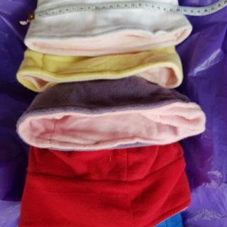 หมวกบีนนี่ผ้ากำมะหยี่5สีสำหรับเด็ก3-12ขวบ ผู้หญิงใส่ได้*มีราคาส่ง