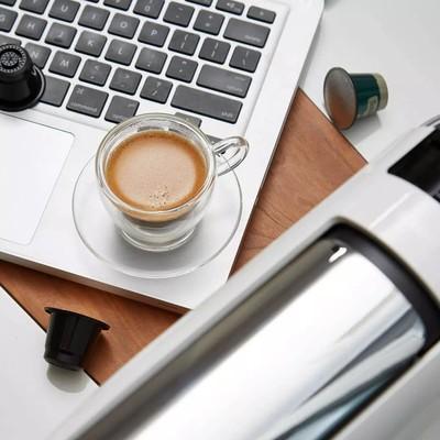 チ‰กาแฟXiaomi Youpin เครื่องชงกาแฟแคปซูลสมาร์ทโฮมออฟฟิศเครื่องทำน้ำร้อนขนาดเล็กแบบตั้งโต๊ะอัตโนมัติ