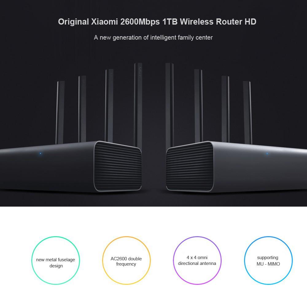 Original Xiaomi Mi R3P 2600Mbps Smart Wireless Router Pro 4