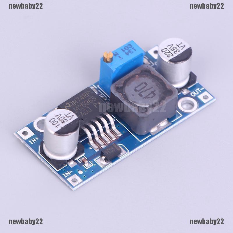 DC-DC buck adjustable step-down Power Supply Converter module LM2596, 10 X