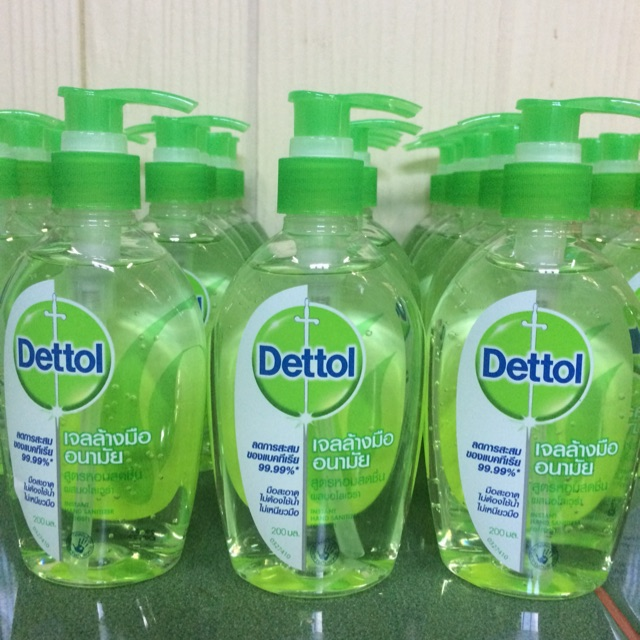 Dettol เจลล้างมืออนามัย ขนาด 200มล