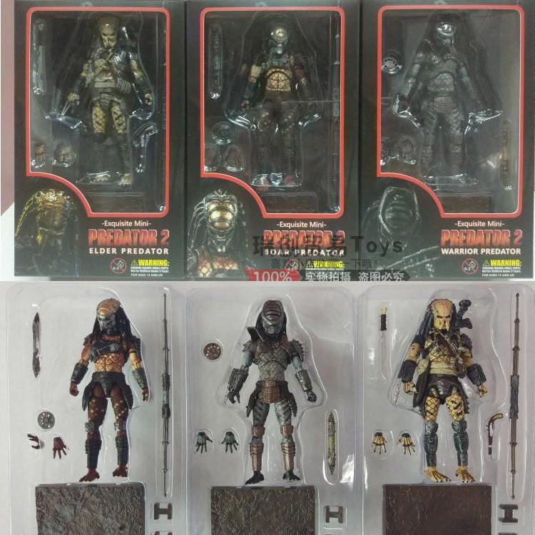 【👍sale】Haiya 1:18 Predator movie version 3.75 inch city hunter guardian figure figure