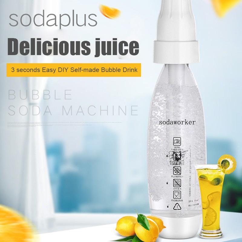 🌸Ready stock🌸 เครื่องทำเครื่องดื่มโซดาเครื่องดื่มแบบพกพา เครื่องทำเครื่องดื่มโซดา แบบพกพา