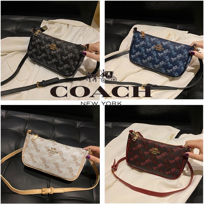 2020 New Coach กระเป๋าสะพายข้าง แฟชั่น Bag Handbag Best Quality