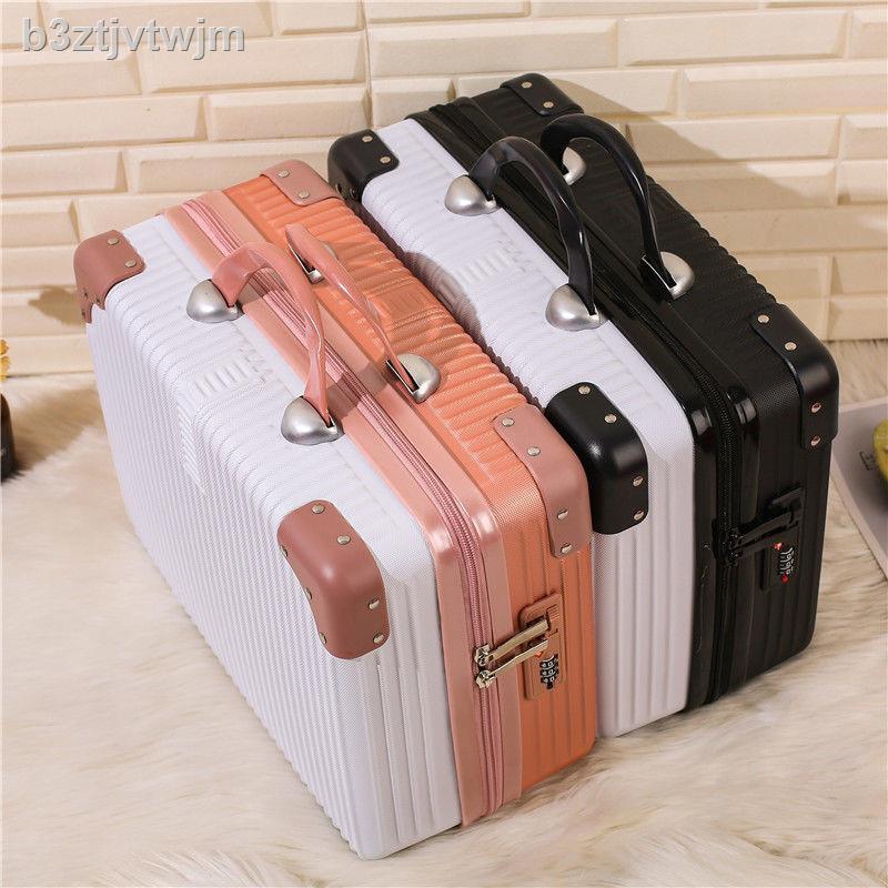 ✎▥กระเป๋าเดินทาง, กระเป๋าเครื่องสำอาง, กระเป๋าเครื่องสำอาง 14 นิ้ว, กระเป๋าเดินทาง 16 ใบเล็ก, กล่องเก็บของขนาดเล็ก, กล่อ