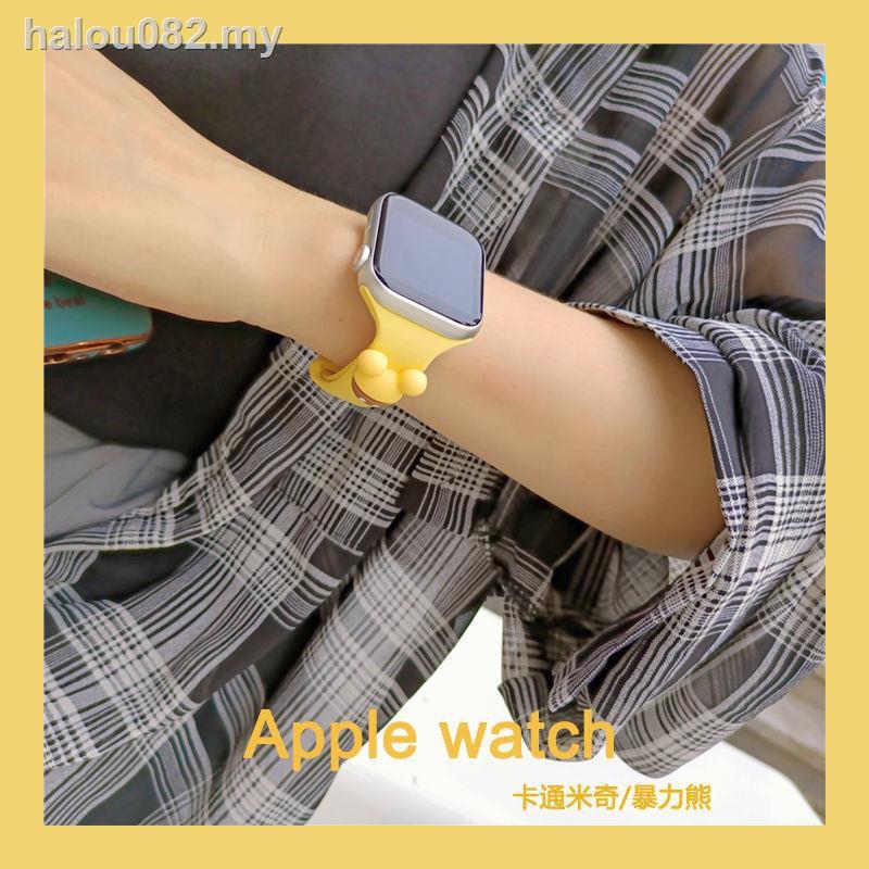 สายนาฬิกาข้อมือแบรนด์ Iwatch 12345 สําหรับ Applewatch