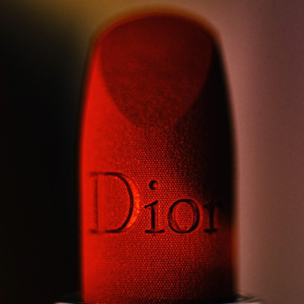 ลิปสติก Dior◆Dior Dior 2021 new legend velvet 999 lipstick 840 flame blue gold ลิปสติก 3.5g
