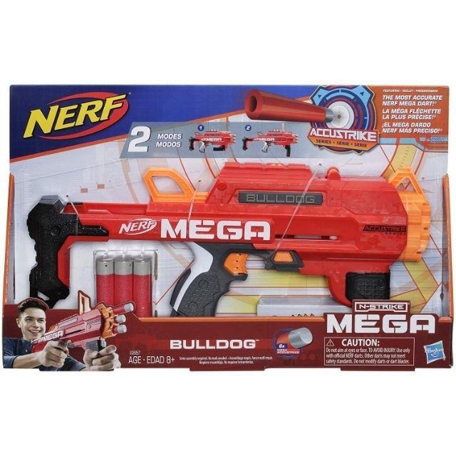 ❏∋NERF Accustrike Mega Bulldog Blaster Toy Gun ปืนเนิร์ฟ