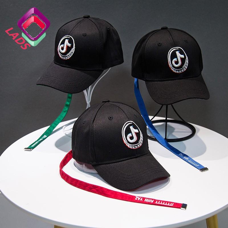 LADS หมวกแก๊ปแฟชั่น พิมพ์ลายโลโก้ TI