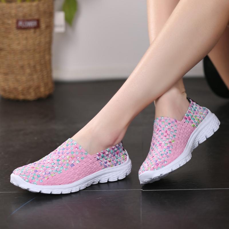 รองเท้าสานรองเท้ารองเท้าผู้หญิงรองเท้าวิ่งรองเท้าคัชชูรองเท้ากีฬารองเท้า  35-41