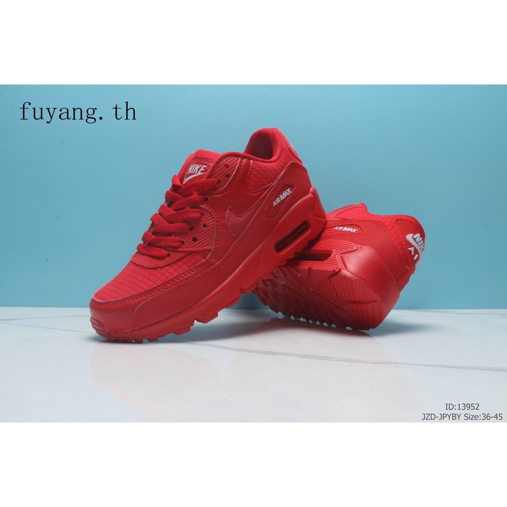 รองเท้าลำลองผู้ชาย NIKE AIR MAX90 Y551 Leisure Motion Cushion รองเท้าออกกำลังกาย 07