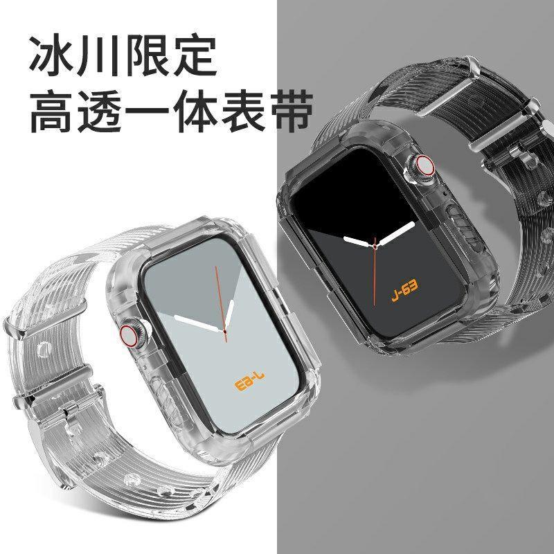 สายนาฬิกาข้อมือสําหรับ Applewatch Applewatch 6 / 5 / 4 รุ่น 3 สีใส