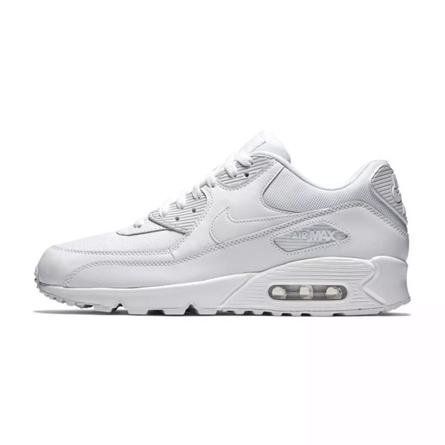 Nike air max 90 triple white (แท้)