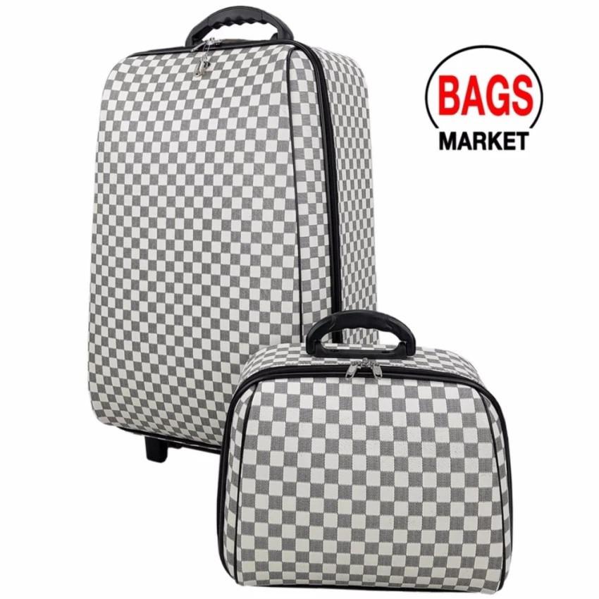 กระเป๋าเดินทาง กระเป๋าเดินทางล้อลาก Wheal เซ็ทคู่ 24/14 นิ้ว4ล้อคู่ด้านหลัง ะบบล๊อคกุญแจคล้ กระเป๋าล้อลาก กระเป๋าเดินทาง