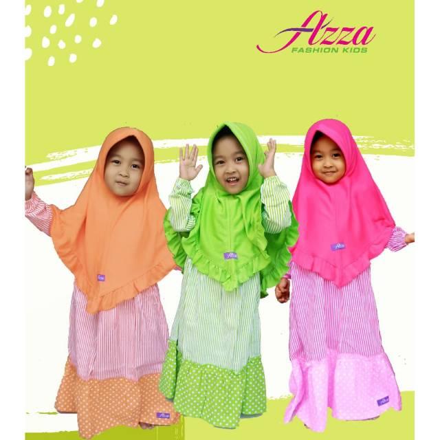 Azza เสื้อคลุมเด็กช่องคลอด Below + Hijab Syar' I