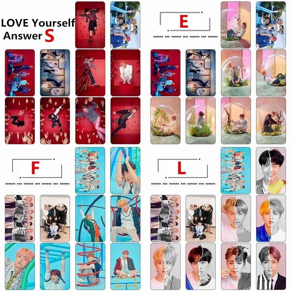 สติ๊กเกอร์ลาย KPOP BTS Bangtan Boys Love Yourself Answer Album 10 ชิ้น / แพ็ค