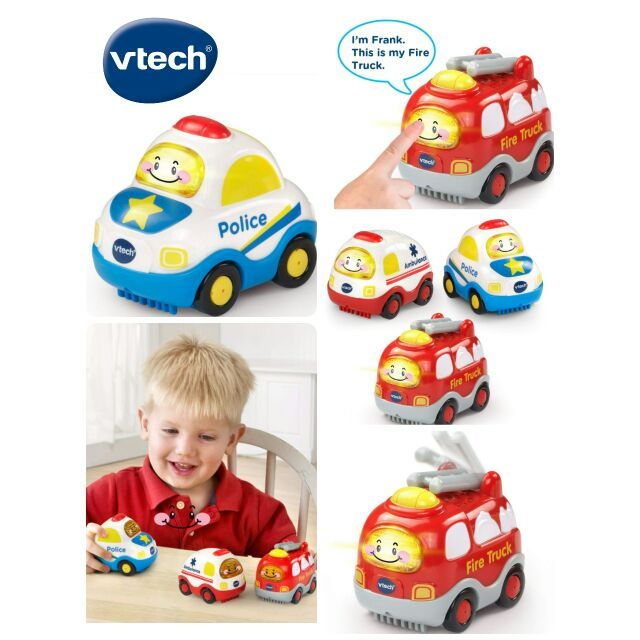 Go VTech Go Set of 3 Smart Wheels Starter Pack