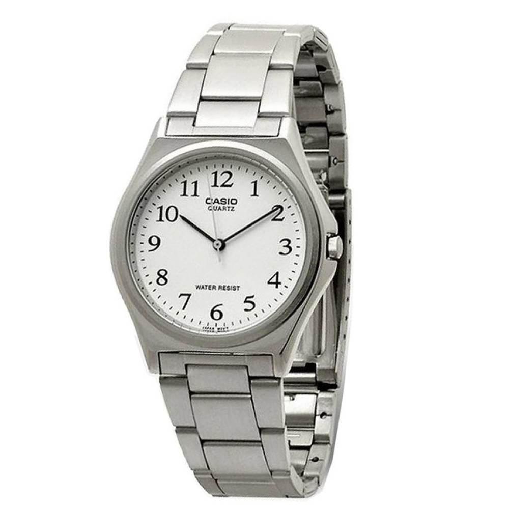 นาฬิกา รุ่น Casio นาฬิกาข้อมือ ผู้ชาย สายสแตนเลส รุ่น MTP-1130A-7B ( White/Silver ) จากร้าน MIN WATCH