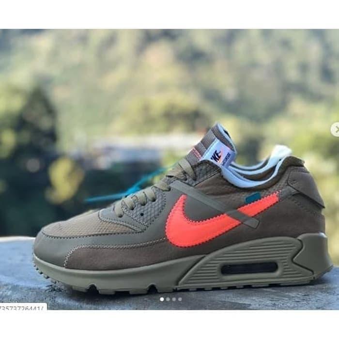 Nike Airmax 90 Offwhite Desert Ore - รองเท้าผ้าใบลําลองสีขาวคุณภาพดี